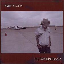Emit Bloch - Dictaphones, Vol. 1 (2009)  CD NEW/SEALED  SPEEDYPOST