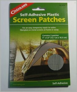 Coghlan's 8150 Screen Patches Self Adhesive Plastic