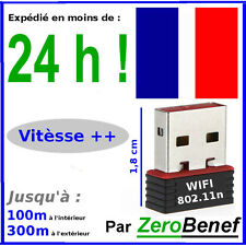 Cle Wifi 150 mbps Garantie 2ANS Expedie en 24h - mini adaptateur dongle usb