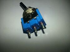 6,ON ON SPDT Flat Shaft Metal Toggle Switch 3v 4.5v 6v 9v 12v CAR BOAT,F102 fin
