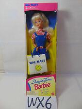 Shopping Time Barbie Doll Special Edition Walmart 1997-Mattel Wal Mart New