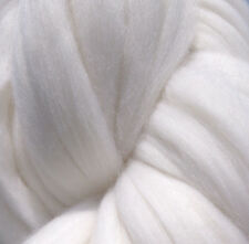 White Wool Roving, Rove, Wool Rove, Spinning Wool, Felting Wool, Wool Fiber