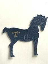 HERMES PETIT H HORSE MINI CHARM IN BLEU - BRAND NEW!!!