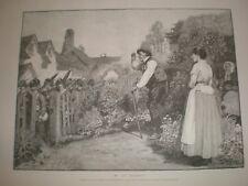 My Old Regiment by W B Wollen 1889 print ref AR
