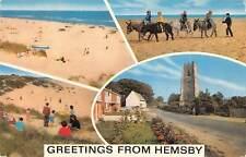 uk8301 greetings from hemsby uk