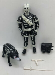Black Major Custom Bonecrusher Commando With Wolf