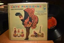 Ormandy Les Sylphides Gaite Parisienne LP Columbia 6 Eye CL 741 Mono