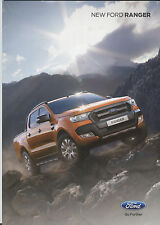 Brochure: Ford Ranger - 2015 Includes XL, XLT, Limited and Wildtrak