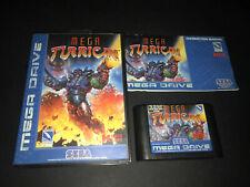 Mega Turrican Megadrive Mega Drive PAL