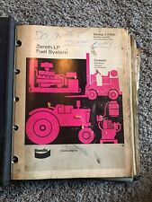Binder of Bendix Carburetor, Stromberg, Zenith Parts Catalogs, Service Manuals