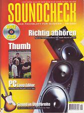 SOUNDCHECK Specials & Storys Thumb Workshops Gesang Bandworkshop: Punk