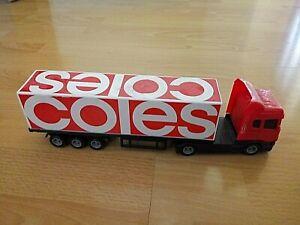 Coles Toy Truck - Coles Little Shop Promotion