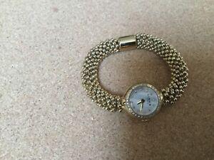 Genuine Links of London Effervescence Star Sapphire Yellow Gold Watch