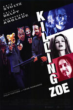 KILLING ZOE (1994) ORIGINAL MOVIE POSTER  -  ROLLED