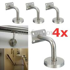 4pcs Stainless steel Handrail Brackets Hand Rail Bracket Support Stair Handrail