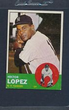 1963 Topps #092 Hector Lopez Yankees VG/EX *503