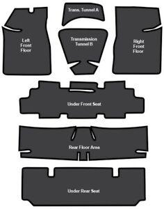 1968-72 Pontiac LeMans Sound Deadener EVA - 7 pc set
