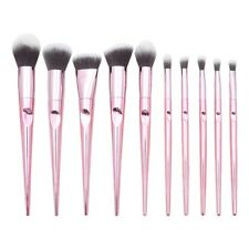 10Pcs Wet And Wild Series Of Tapered Finger Printing Handle Cosmetic Brush Set F