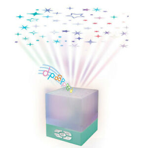 Baby Star Musical Lullaby Glow Cube Lighting Ceiling Lamp Projector Sleep Night