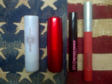 4pc lipstick & gloss set: Clinique, Revlon, Natural Collection, Soap & Glory