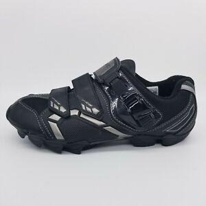 Shimano Womens Road Cycling Shoe SH-WM63L Black Silver SPD-SL Size 40 EU