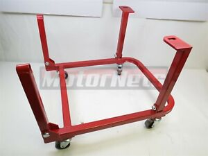 Ford Small Block Engine Cradle Stand W/ wheels SBF 260 289 302 351W Heavy Duty
