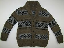 Dolce & Gabbana D&G wool acrylic alpaca sweater cardigan made in Italy mens 50 L