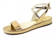 Michael Kors 'Kaylee' Platform Sandal WOMEN'S GOLD 8M
