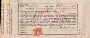 1920 x x x Contract Ginn,Coleman & Company A promissory note George DeMoss