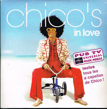 CD single: Chico's: in love. 3 titres. universal. D5