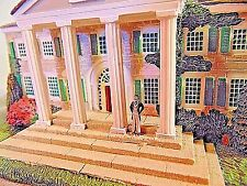Miniture Of Ashley Wilkes Home Twelve Oaks From Movie Gone With The Wind