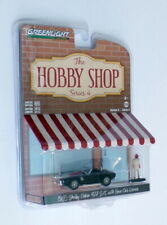Greenlight 1/64 Scale 97040-A - 1965 Shelby Cobra 427 & Driver - Black/Red