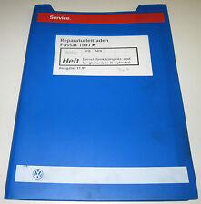 Werkstatthandbuch VW Passat B5 Typ 3B Diesel 6 Zylinder Direkteinspritz Anlage