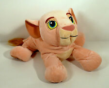 "12"" Nala Plush Stuffed Animal Figure Disney Store Exclusive Patch Lion King"