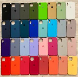 Coque et étuis housse silicone pour Apple iPhone 6/6s 7/8 7+/8+ X/Xs XR XsMax 11