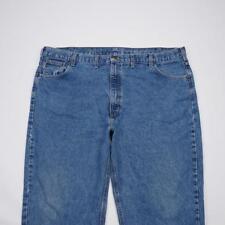 CARHARTT B17DST Relaxed Fit Jeans Medium Wash Denim Mens 48x30