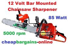 12V ELECTRIC CHAINSAW SHARPENER BAR MOUNTED DISC GRINDER FILE ON SAW SHARPENER