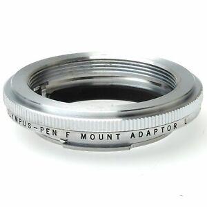 Olympus Pen F Leica Screw Mount (LTM) Adapter (Boxed)