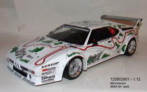 MINICHAMPS  125802901 , BMW M1 1000 KM Nürburgring 1980 Stuck - Piquet 1:12