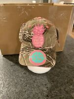 Simply Southern Pink Pineapple Real Tree Xtra Camo Ladies Womans Cap Hat FISHING