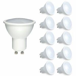 12x GU10 7W LED Light Bulb Spotlight Lamp Cool white 6500K Equals 70W Halogen