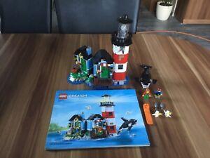 Lego Creator 31051 Leuchtturm Insel Set Komplett Mit Ba Anschauen