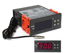 Thermostat numérique 12v avec sonde pour chauffer les incubateurs termostato 12v