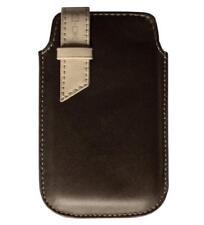 Schutz Hülle Tasche Etui Case Braun für Motorola E8
