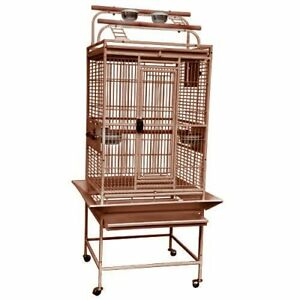 Kings Cages Parrot Bird 8002422 Play Top Bird Toy Cage Cockatiels Conures