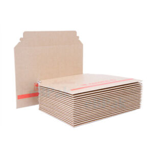 A5 RIGID Mailer 170 x 230mm eFlute Brown Heavy Duty Hard Envelope