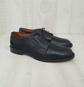 Allen Edmonds Leeds 9501 Black Cordovan 4431 Shoes Men's Size 9.5 D Used