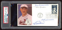 Baseball Cachet Postmarked 1983 Envelope Signed by Tony Cuccinello Doerr Herman