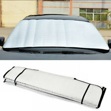 1pc Car Auto Sun Shade Visor Film UV Snow Window Protection Summer Winter Silver