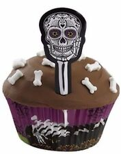 Skull Skeleton Halloween Cupcake Decorating Kit from Wilton #9974 - NEW